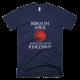 Тениска с щампа Born in April to rule the Seven Kingdoms Targaryen