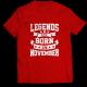 Тениска с щампа Legends November 2