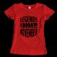 Тениска с щампа Legends November