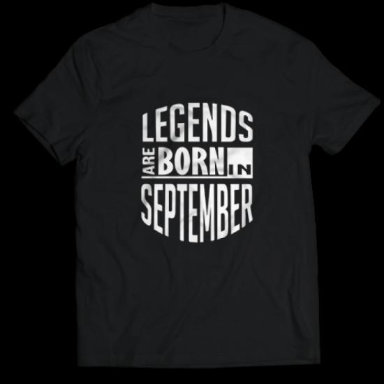 Тениска с щампа Legends September