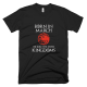 Тениска с щампа Born in March to rule the Seven Kingdoms Targaryen