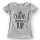 Тениска с щампа Queens July