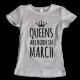 Тениска с щампа Queens March