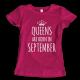 Тениска с щампа Queens September