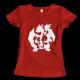 Тениска с щампа SARMANDER EVOLUTION