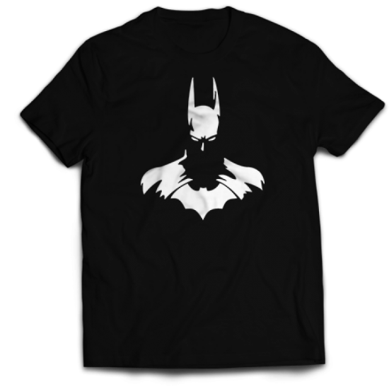 Тениска с щампа BATMAN SILHOUETTE