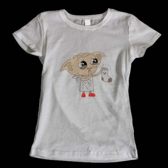 Тениска с щампа Dobby