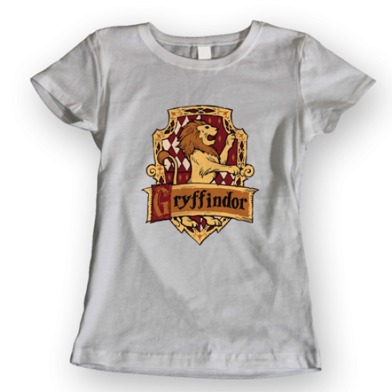 Тениска с щампа House Gryffindor
