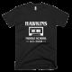 Тениска с щампа Hawkins Middle School | Stranger Things
