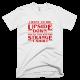 Тениска с щампа I went to the Upside Down and all i got was this Strange T-shirt