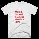 Тениска с щампа Mike & Lucas & Dustin & Eleven & Will   Stranger Things