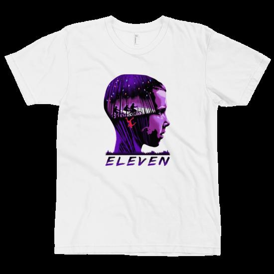 Тениска с щампа Eleven   Stranger Things