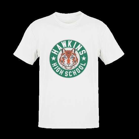 Тениска с щампа Hawkins High School Tigers | Stranger Things