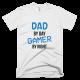Тениска с щампа Dad by day Gamer by Night