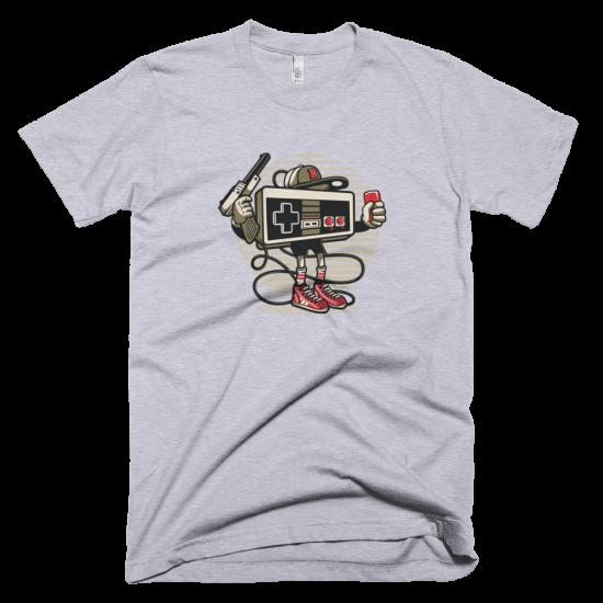 Тениска с щампа Let's Play Nintendo