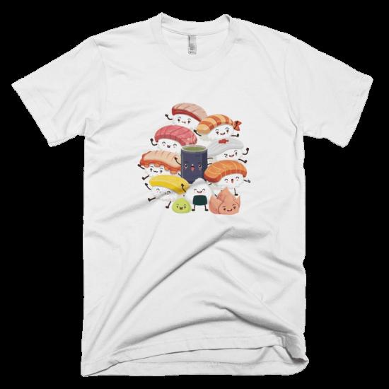 Тениска с щампа Sushi