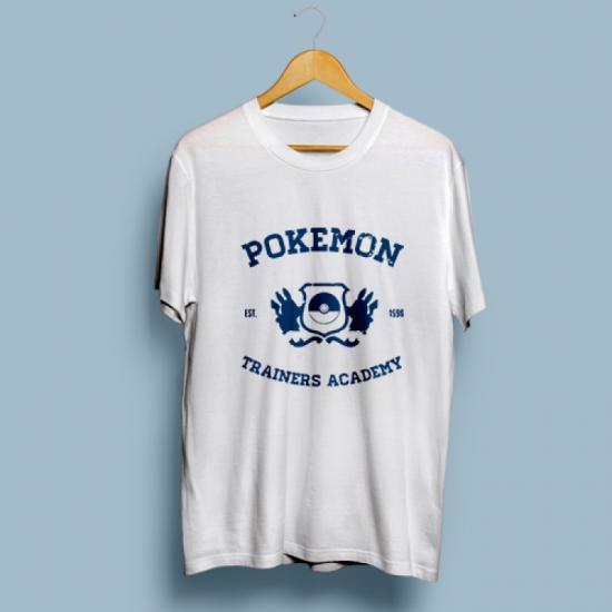 Тениска с щампа POKEMON ACADEMY