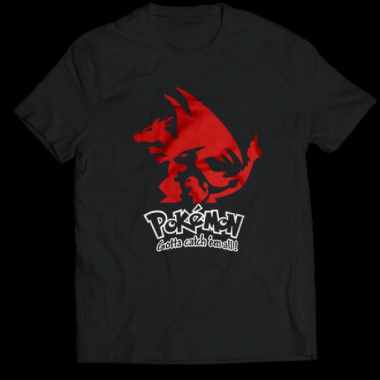 Тениска с щампа  CHARMANDER EVOLUTION POKEMON