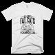 Тениска с щампа I like fat cats and I cannot lie