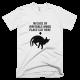 Тениска с щампа In case of irritable mood place cat here