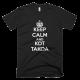 Тениска с щампа Keep Calm and Кот Такоа
