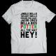 Тениска с щампа JINGLE BELLS TWILIGHT SMELLS