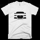 Тениска с щампа Audi Silhouette