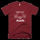 Тениска с щампа This guy loves his Audi