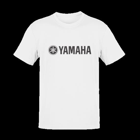 Тениска с щампа Yamaha