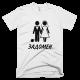 Тениска с щампа Задомен