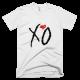 Тениска с щампа The Weekend XO