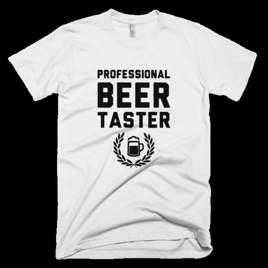 Тениска с щампа Professional Beer Taster