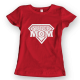Тениска с щампа Supermom