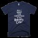 Тениска с щампа All I want for Christmas is my Hogwarts letter