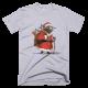 Тениска с щампа Christmas Yoda
