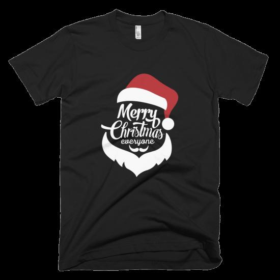 Тениска с щампа Merry Christmas Everyone
