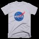 Тениска с щампа Santa NASA