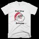 Тениска с щампа Don't stop believing
