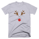 Тениска с щампа Rudolph