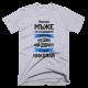 Тениска с щампа  Всички мъже са създадени еднакви, но само най-добрите се казват Николай