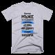 Тениска с щампа Всички мъже са създадени еднакви, но само най-добрите се казват Никола