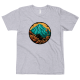 Тениска с щампа Mountain Explorer