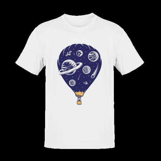 Тениска с щампа Space Traveller
