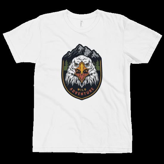 Тениска с щампа Wild Adventure Eagle