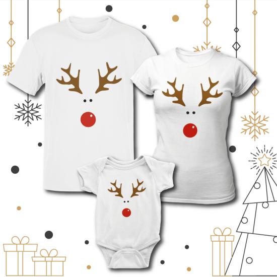 Семеен Коледен Комплект Rudolph