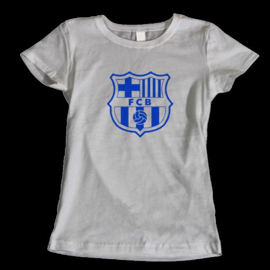 Тениска с щампа  BARCELONA LOGO