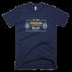 Тениска с щампа Eat Sleep Train Repeat