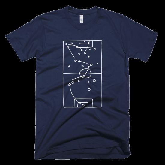 Тениска с щампа FOOTBALL