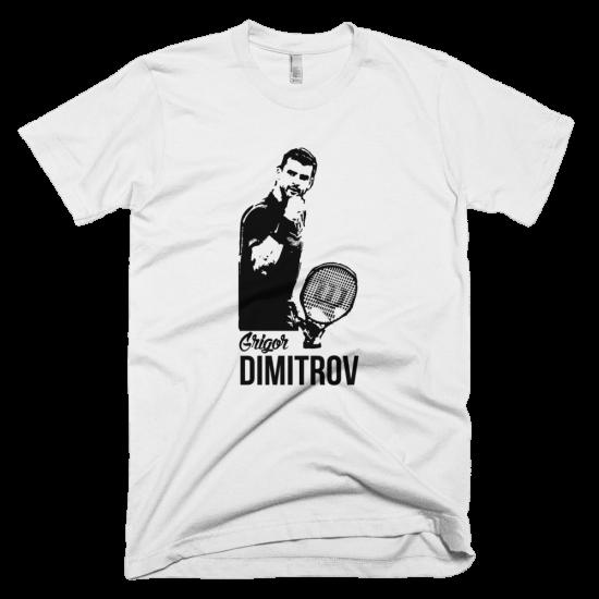 Тениска с щампа Григор Димитров 2