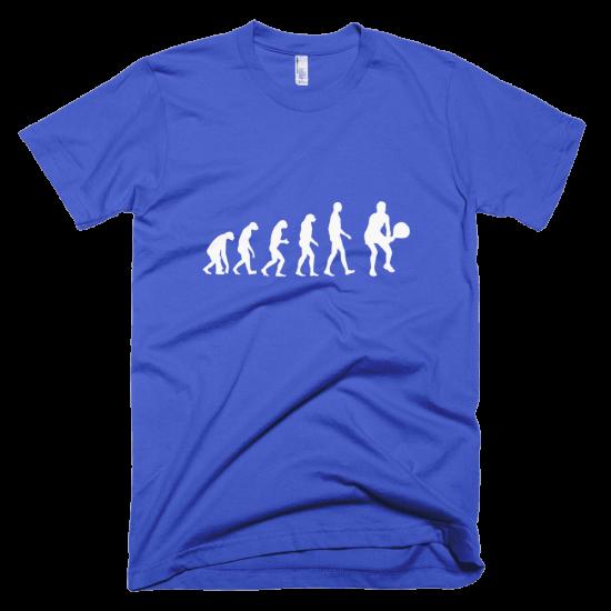 Тениска с щампа Tennis Evolution
